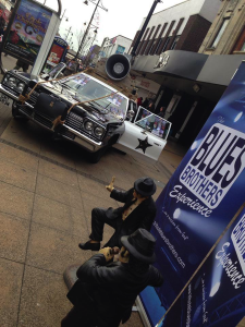 Bluesmobile in Romford