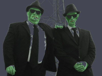 Blues Brothers Experience at the Compass Theatre Ickenham