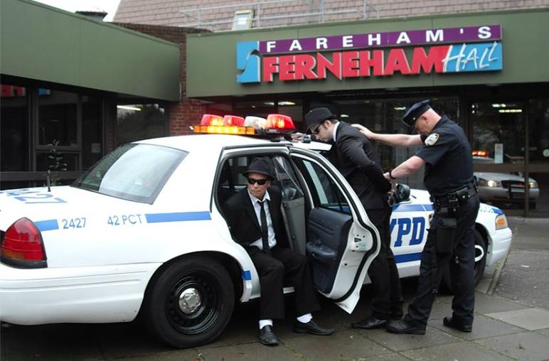 Ferneham Hall Arrest