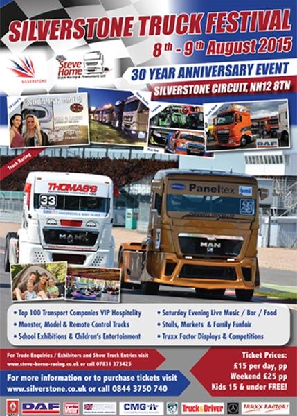Poster - Silverstone Truck Festival